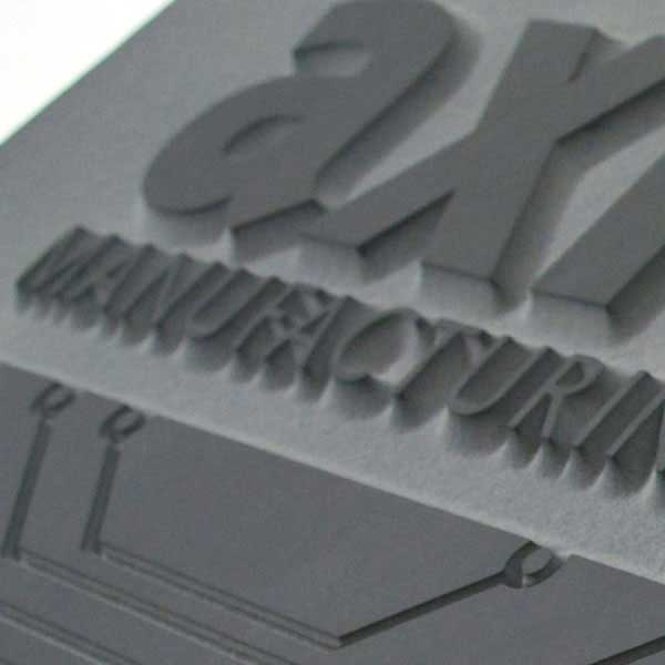Axiom Welsh slate corporate plaque