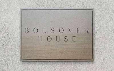 Bolsover House Sandstone Plaque