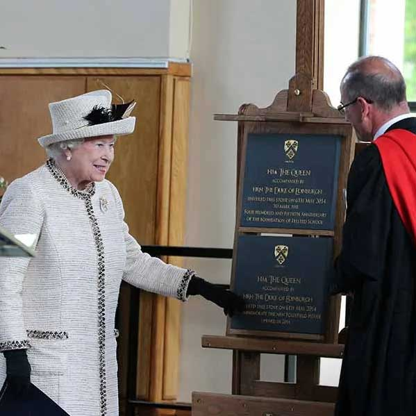 HM The Queen Commemorative Plaque