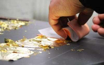 Case study: 23.5ct Gold Leaf Gilding