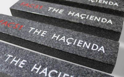 Case Study: The Haçienda Custom Plaques