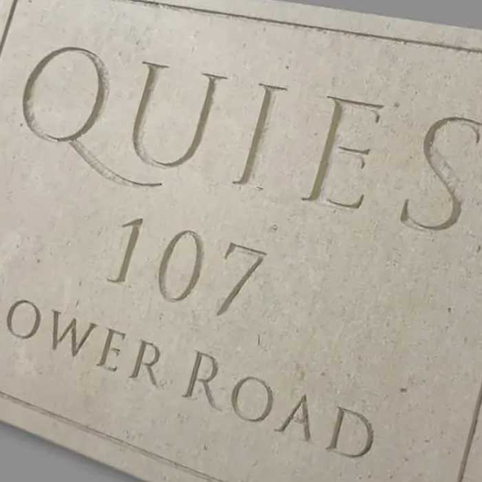 Stone sign the history of Portland stone